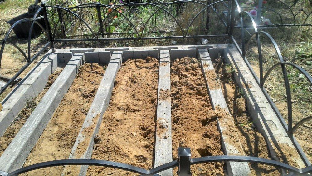 Цементный раствор для гранитного памятника бетон купить в петрович